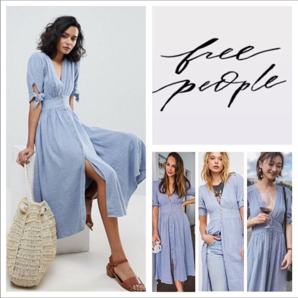 Free People Love Of My Life Midi Dress.  Nwt.Nwt by Free People